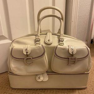 Authentic Dior vintage detective large satchel